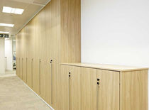 tall filing cupboard (swing door) SMARTWALL Task Systems