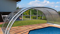 telescopic high pool enclosure TROPEA NEO Alukov HZ