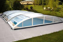 telescopic low pool enclosure BEAUTY PISCINES MAGILINE
