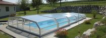 telescopic low pool enclosure  Pool Cover