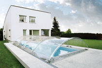 telescopic low pool enclosure G-LINE G4 UND G5 AURA