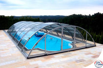 telescopic mid-high pool enclosure UNIVERSE Alukov HZ