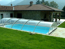 telescopic mid-high pool enclosure ARCO A. DI ARCOBALENO