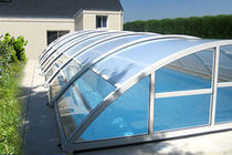 telescopic mid-high pool enclosure CONFORT PISCINES MAGILINE