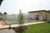 telescopic wall pool enclosure SAN MARINO PARADISO INTERNATIONAL
