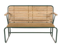 tennis bench TENNIS by Pierre Charpin Tectona