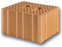 terracotta cellular insulating block (horizontal cells) BLOCCO TERMICO FBM Fornaci Briziarelli Marsciano