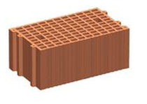 terracotta cellular insulating block (monomur)  COTTO SENESE