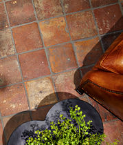 terracotta floor tile : rustic ANTIQUE DARK ANN SACKS
