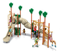 thematic play structure CHALLENGERS® : #350-1202 PLAYWORLD