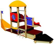 thematic play structure THE CERO RANGE Parques Infantiles Isaba