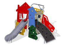 thematic play structure STORY MAKERS MSC6401P KOMPAN