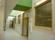 thermal insulation glass panel (with blinds integrated) ROYAL UNITED HOSPITAL  Glass Tech Facades