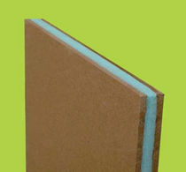 thermic and acoustic natural insulation panel in wood fiberboard AKUSTIK WOOD N.D.A. NUOVE DIMENSIONI AMBIENTALI