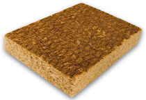 thermic and acoustic natural insulation panel in wood fiberboard ISOLNAT ISOLATEC
