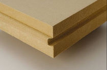 thermic natural insulation panel in wood fiberboard GUTEX MULTITHERM Ecological Building Systems 