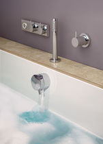 thermostatic single handle mixer tap for bath-tub HQDB1X aqualisa