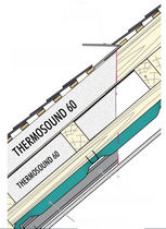 thin thermo-reflective insulation (multi-layer) THERMOSOUND 60 KdB ISOLATION