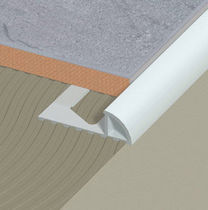tile edge trim in aluminium (round)  DINAC