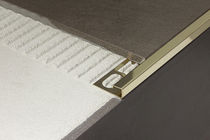 tile edge trim in brass CERFIX® PROANGLE Q PROFILPAS