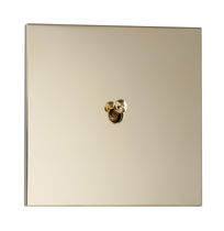 toggle light switch with metal finishing SYDNEY : LAITON MIROIR LUXONOV