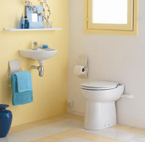 toilet with waste macerator SANICOMPACT C43 SFA Sanitrit España