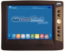 touch-screen for home automation system OMNITOUCH 10P HAI (Home Automation, Inc.)