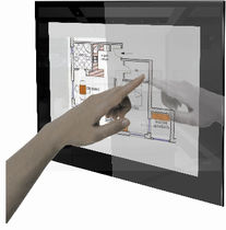 touch-screen for home automation system DPC15-C1 G.P. TECNO srl
