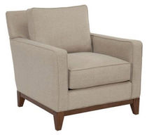 traditional armchair SUEDE  Broyhill