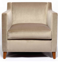 traditional armchair ROSELINE by Yves Halard PIERRE FREY tissus