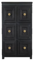 traditional bar cabinet TUXEDO by Suzanne Kasler HICKORY CHAIR