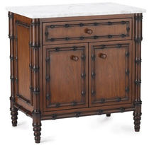 traditional bed-side table HAMPSTEAD Williams Sonoma Home