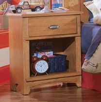 traditional bed-side table AUSTIN : 618-411 LEA INDUSTRIES