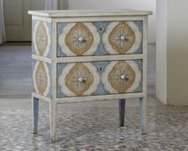 traditional bed-side table Barberini nighstand Porte Italia Interiors