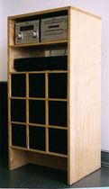 traditional CD/DVD cabinet ECLECTICA Aswoon/Susan Woods Studio