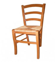 traditional chair PAILLE René Pierre