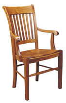 traditional chair with armrests AMERICAN HERITAGE NICHOLS &amp; STONE