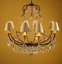 traditional chandelier RV-118/M/F8 Signature Home Collection