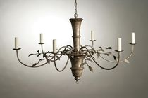 traditional chandelier (bronze) OLIVE LEAF PORTA ROMANA