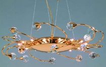 traditional chandelier (crystal) GALAXY Orion Leuchtenfabrik