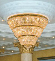 traditional chandelier (crystal) RITZ CARLTON HOTEL, BERLIN - 18420A Kalmar Lighting
