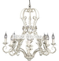 traditional chandelier CARLA BLANC D'IVOIRE