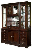 traditional china cabinet AVERY AVENUE CHINA Broyhill