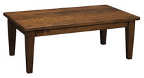 traditional coffee table AMERICAN RUSTIC NICHOLS & STONE