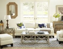 traditional coffee table ZINC TOPPED  Williams Sonoma Home