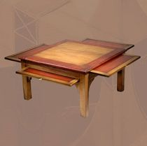 traditional coffee table 142 D BATEL