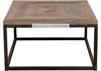 traditional coffee table BASILE BLANC D'IVOIRE