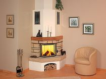 traditional corner fireplace (wood-burning closed hearth ) 4/1.5 Hark GmbH & Co. KG
