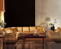 traditional corner sofa CLELIA Pigoli