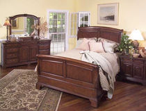 traditional double bed NOTTINGHAM LEDA Furniture